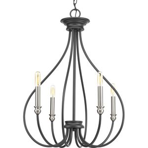 Whisp Collection Four-Light Chandelier