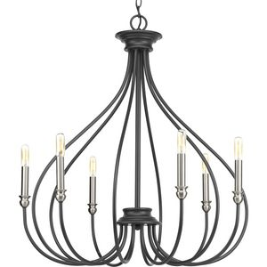 Whisp Collection Six-Light Chandelier
