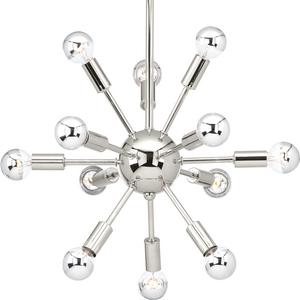 Ion Collection Twelve-Light Chandelier