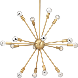 Ion Collection Sixteen-Light Chandelier