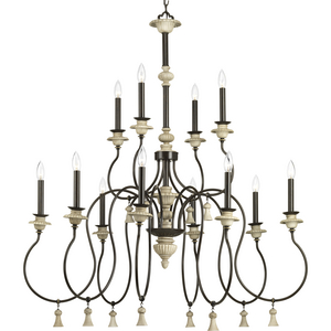 Bergamo Collection Twelve-Light Chandelier