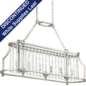 Desiree Six-Light Linear Chandelier