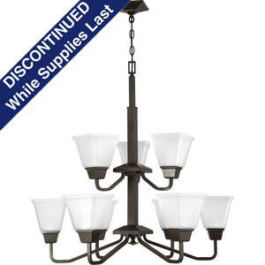 Clifton Heights Collection Nine-Light Chandelier