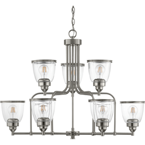 Saluda Collection Nine-Light Chandelier