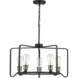Foster Collection Five-Light Chandelier