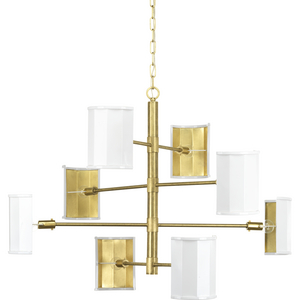 Jeffrey Alan Marks Wandermere Collection Eight-Light Chandelier