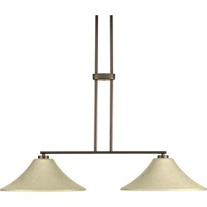 Bravo Collection Two-Light Linear Chandelier