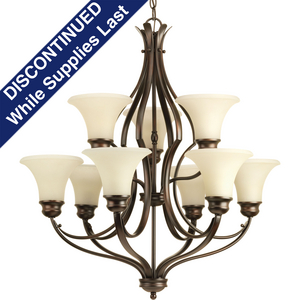 Applause Collection Nine-Light, Two-Tier Chandelier