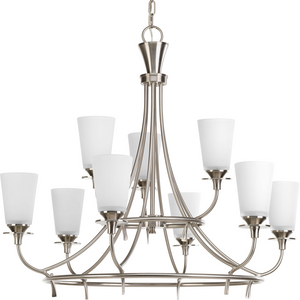 Cantata Collection Nine-Light, Two-Tier Chandelier