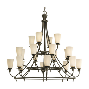 Cantata Collection Twenty-Light, Three-Tier Chandelier