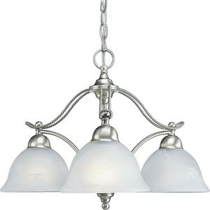Avalon Collection Three-Light Chandelier