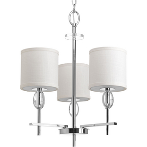 Status Collection Three-Light Chandelier