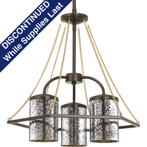 Indi Collection Three-Light Chandelier