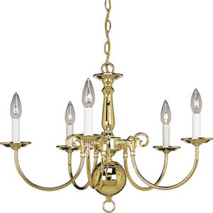 Americana Collection Five-Light Chandelier