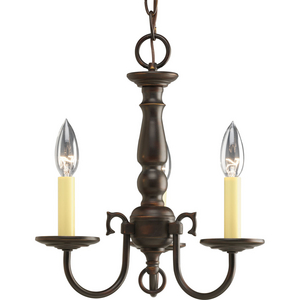 Americana Collection Three-Light Chandelier
