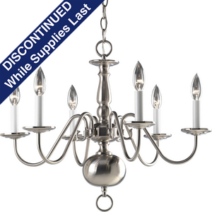 Americana Collection Six-Light Chandelier