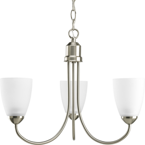 Gather Collection Three-Light Chandelier