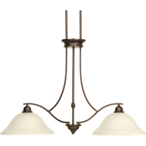Spirit Collection Two-Light Linear Island Chandelier