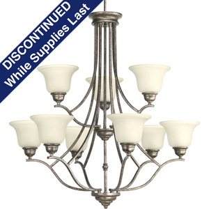 Spirit Collection Nine-Light, Two-Tier Chandelier