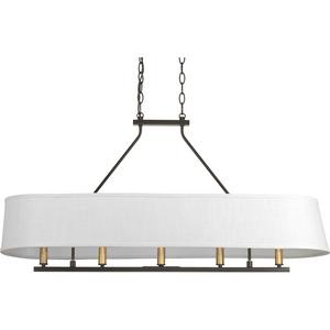 Cherish Collection Five-Light Linear Chandelier