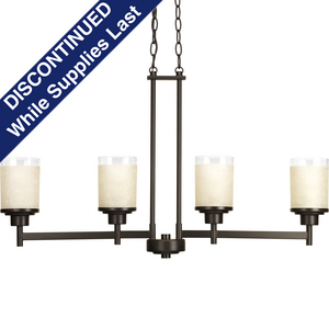 Alexa Collection Four-Light Linear Chandelier
