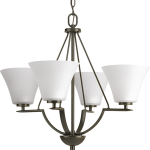 Bravo Collection Four-Light Chandelier