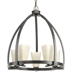 Ridge Collection Five-Light Chandelier