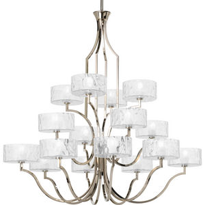 Caress Collection Sixteen-Light, Three-Tier Chandelier