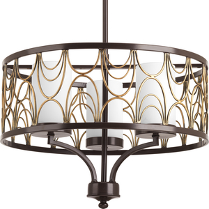 Cirrine Collection Three-Light Chandelier