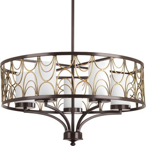 Cirrine Collection Five-Light Chandelier