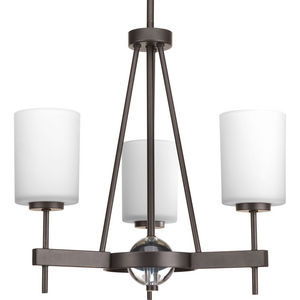 Compass Collection Three-Light Linear Chandelier