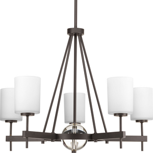 Compass Collection Five-Light Linear Chandelier