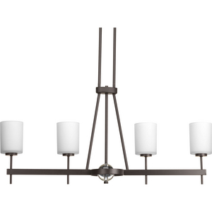 Compass Collection Four-Light Linear Chandelier