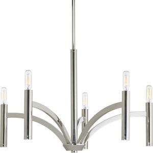 Draper Collection Five-Light Chandelier