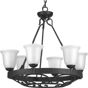 Enclave Collection Six-Light Chandelier