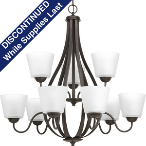Arden Collection Nine-Light, Two-Tier Chandelier