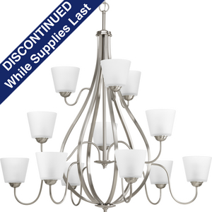 Arden Collection Twelve-Light, Three-Tier Chandelier