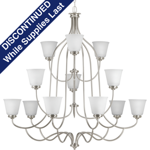 Keats Collection Twelve-Light, Three-Tier Chandelier