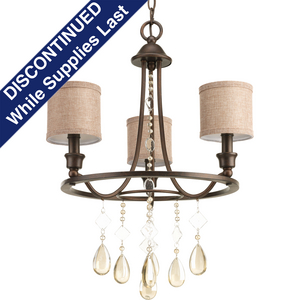Flourish Collection Three-Light Chandelier