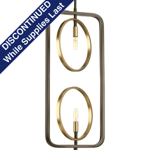 Swing Collection Two-Light Pendant