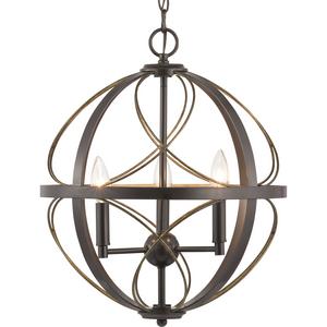 Brandywine Collection Three-Light Pendant