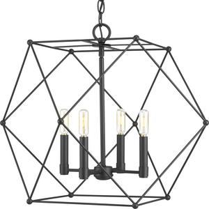 Spatial Collection Four-Light Pendant