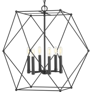 Spatial Collection Six-Light Pendant