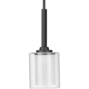 Kene Collection Graphite One-Light Mini-Pendant