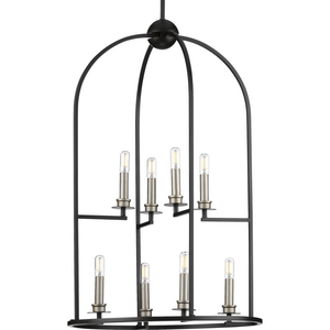 Seneca Collection Eight-Light Foyer Pendant