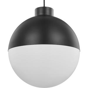 Globe LED Collection Black One-Light LED Pendant