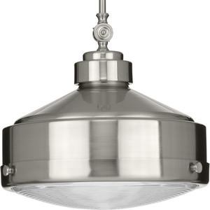 Loftin Collection Brushed Nickel One-Light Pendant