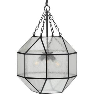Mauldin Collection Black Three-Light Pendant