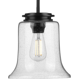 Winslett Collection Black One-Light Mini-Pendant