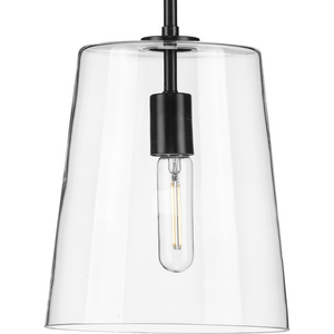 Clarion Collection Black One-Light Small Pendant